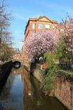 Canal de Rochdale por el Canal Street en Manchester Fotografía de archivo libre de regalías