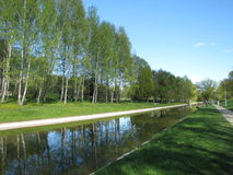 Canal de suministro de agua Imagen de archivo libre de regalías