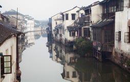 Canal de Suzhou imágenes de archivo libres de regalías