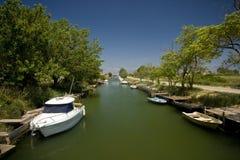 Canal de transporte em Nin Fotos de Stock Royalty Free