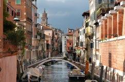 Canal de Venecia Fotografía de archivo libre de regalías