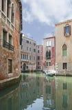 Canal de Venecia Fotografía de archivo