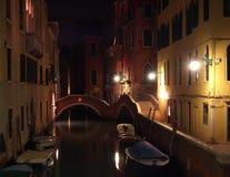 Canal de Venecia Foto de archivo libre de regalías
