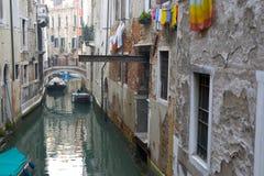 Canal de Venecia Imágenes de archivo libres de regalías