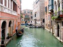Canal de Venecia Foto de archivo