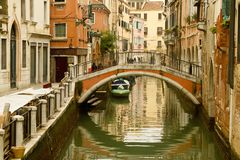 Canal de Venecia Imagen de archivo libre de regalías