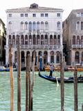 Canal de Venecia grande Fotos de archivo libres de regalías
