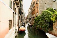 Canal de Veneza foto de stock