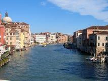 Canal de Veneza grandioso Imagens de Stock