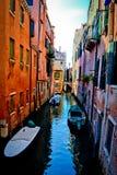 Canal de Venezia Foto de Stock