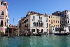 Canal de Venezia grande Imagen de archivo