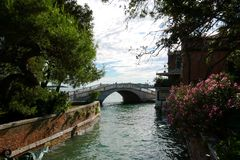 Canal de Venise, Itália imagens de stock