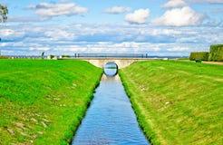 Canal del agua Foto de archivo