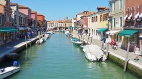 Canal del agua de Verona, Italia Imagenes de archivo