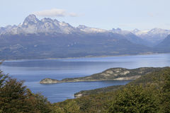 Canal del beagle, Ushuaia Imagen de archivo libre de regalías