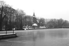 Canal del parque de Koningin Fotos de archivo