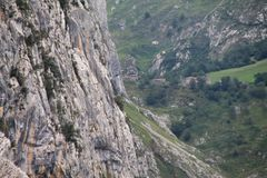 Canal del Texu, Cabrales ( Spain ) Stock Images