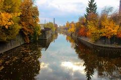 Canal do desvio. Foto de Stock Royalty Free