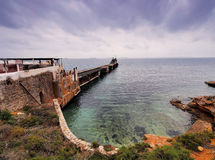 Canal do La, Ibiza imagem de stock
