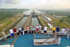 Canal do Panamá Fotografia de Stock