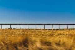 Canal do transporte da água foto de stock