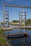 Canal du Centre - Houdeng-Goegnies Stock Photos