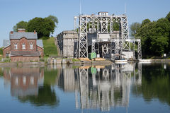 Canal du Centro - Thieu Foto de Stock