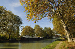 Canal du midi Royalty Free Stock Photos
