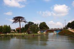 Canal du Midi Imagen de archivo libre de regalías