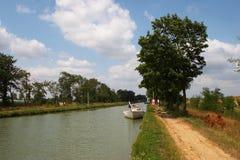 Canal du Midi Fotos de archivo libres de regalías