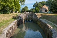 Canal du Midi foto de archivo libre de regalías