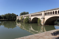 Canal du Midi in Beziers, France Royalty Free Stock Photography