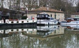Canal du Midi stock photography