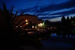 Canal du Midi, Homps, France Photos libres de droits