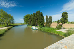 Canal du midi Royalty Free Stock Image