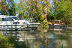 Canal Du Midi, Poihes France Royalty Free Stock Photos