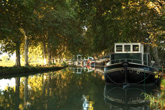 Canal du Midi, southern France Stock Image