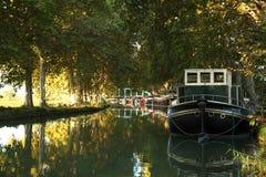 Canal du Midi, southern France Stock Image