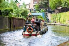 Canal du ` s de régent, Londres, R-U Photos stock