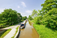 The canal in Ellesmere Royalty Free Stock Photography