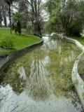 Canal em um parque Foto de Stock