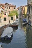 Canal em Veneza Imagem de Stock