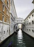 Canal em Veneza Fotos de Stock
