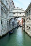 Canal em Veneza, Itália Fotografia de Stock