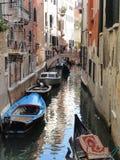Canal em Veneza, Itália Fotografia de Stock Royalty Free