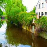 Canal and Embankment Stock Images
