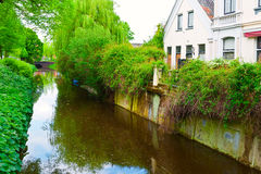 Canal and Embankment Royalty Free Stock Photo