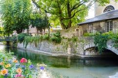 Canal en Annexy Imagenes de archivo