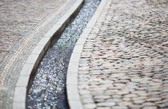 Canal en Friburgo Fotos de archivo