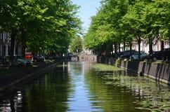 Canal en La Haya Fotografía de archivo libre de regalías